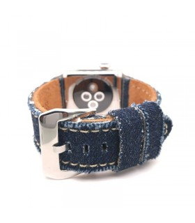 Correa Apple Watch de tela de jean mod 390